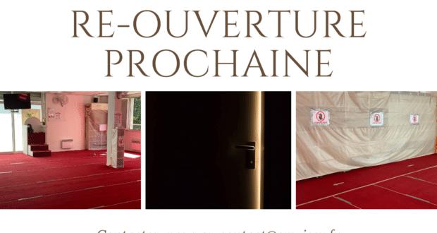 réouvrture de la mosquée d'issy